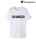 챔피온() T425 CUSTOM SHORT SLEEVE T-SHIRT 화이트(LOS ANGELES)