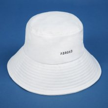 Signature Bucket Hat (white)