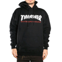 THRASHER TWO-TONE SKATE MAG HOOD (BLACK)