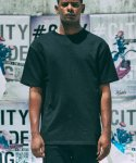 프리스트(FRST) FRST - MMXVII BASIC SOLID T-SHIRT BLACK