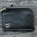 BELIF SMALL ZIP WALLET (BLACK)
