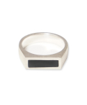 매닉(MANIC) RECTANGLE ONYX RING