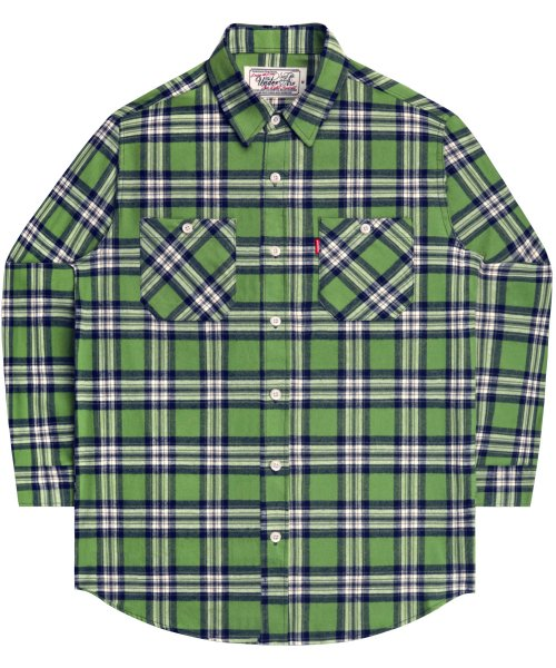 언더에어_Advantage Rule Shirts - Green