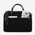 모노노(MONONO) Vintage Brief Bag Super Oxford_Black