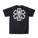 [MIl-spec Monkey] Tac-Med Spartan T-shirt - Black