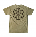 [MIl-spec Monkey] Tac-Med Spartan T-shirt - Dusty Brown