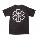 [MIl-spec Monkey] Tac-Med Pirate T-shirt - Black