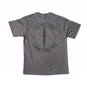 [MIl-spec Monkey] If I Tell You T-shirt - Charcoal