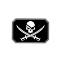 밀스펙몽키(MILSPEC MONKEY) [MIl-spec Monkey] Pirate Skull Flag Decal Sticker - Swat