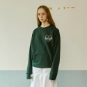 아이아이(EYEYE) CHAIN EMBROIDERY SWEATSHIRT GREEN(EEOE3WSR03W0G1)