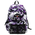 RETRO CAMO BACKPACK - SUPER VIOLET