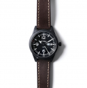 [Techne] Harrier 367 Carbon - Leather Chestnut PVD