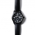 [Techne] Harrier 388 Aero Al - Leather Black PVD