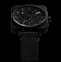 [Minus-8] Square Chrono - Black / Black