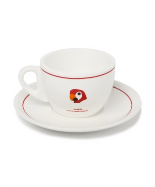 라이풀(LIFUL) KANCO ORIGIN TEACUP/SAUCER red