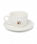라이풀(LIFUL) KANCO ORIGIN TEACUP/SAUCER gray