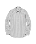 라이풀() KANCO WOMENS STRIPE SHIRT gray