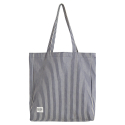 DENIM SHOULDER BAG/NAVY STRIPE[RSD-0012]
