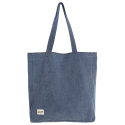 DENIM SHOULDER BAG/VINTAGE WASHED DENIM[RSD-008]
