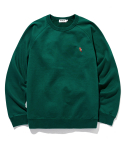라이풀() KANCO OG LOGO SWEATSHIRT forest