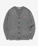라이풀() KANCO CLASSIC KNIT CARDIGAN heather gray