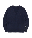 라이풀() KANCO CLASSIC KNIT CARDIGAN navy