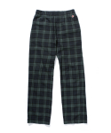 라이풀() KANCO PLAID PAJAMA PANTS navy