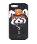 스티그마(STIGMA) PHONE CASE RED PANDA BLACK iPHONE 7/7+