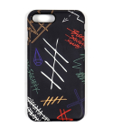 스티그마(STIGMA) PHONE CASE GRAFF BLACK iPHONE 7/7+