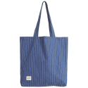 DENIM SHOULDER BAG/STRIPE WASHED DENIM[RSD-006]