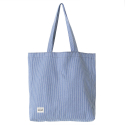 DENIM SHOULDER BAG/STRIPE WASHED DENIM/L[RSD-007]
