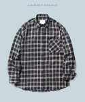 SS Layla endless love navy&ivory check shirt  S8