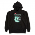 Liberty Goat Pullover Hood - Black
