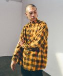 GF Brick Check Flannel Shirt Yellow