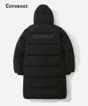 17A/W DUCK DOWN BENCH LONG PARKA BLACK