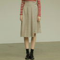 아웃스탠딩오디너리(OUTSTANDING ORDINARY) SOHO SKIRTbeige check