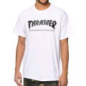 THRASHER SKATE MAG T-SHIRT (WHITE)