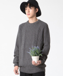Twisted Knit Charcoal