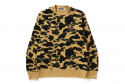 베이프() 1ST CAMO LARGE APE HEAD CREWNECK