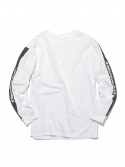 디스이즈네버댓() Stripe SP-Logo L/S Tee White