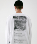 MOVEMENT OVERSIZED CREWNECK MFVCR002-WT