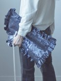 17FW FOREVER PILLOW CLUTCH_NAVY