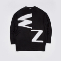 Woozo Abbreviation Full Knit Black/White( Free )