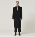 시너리(SCENERY) SCENE SINGLE LONG COAT (BLACK)