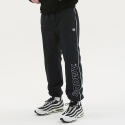 써드위브(THIRDWEAVE) OBLIQUE LOGO TRACK SUIT PANTS BLACK