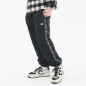 써드위브(THIRDWEAVE) TAPED TRACK PANTS BLACK