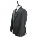 Wool gray easy soft jacket suit (Gray)_BJW17243