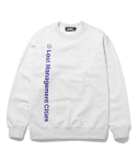 엘엠씨() LMC VERTICAL FN LOGO SWEATSHIRT lt. heather gray
