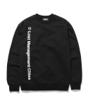 엘엠씨() LMC VERTICAL FN LOGO SWEATSHIRT black