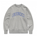 비바스튜디오(VIVASTUDIO) GROUNDED CREW NECK [MELANGE GREY]